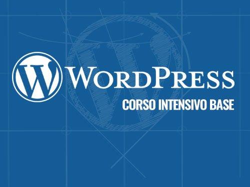 corso wordpress a bari