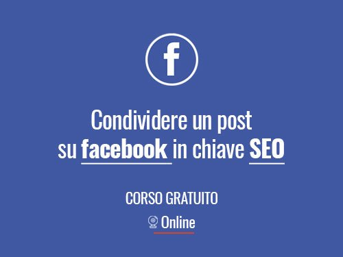 condevidere post facebook seo